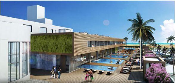 SLS –Ritz Plaza Hotel South Beach Miami - Pool Stones by Sofikitis