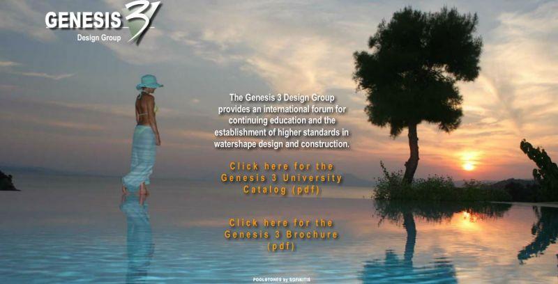 POOLSTONES by SOFIKITIS: Gold Sponsor of Genesis 3 Design